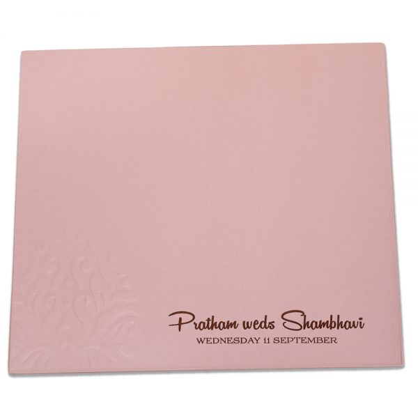 baby pink color card