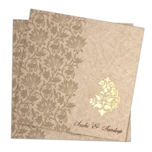 indian wedding card