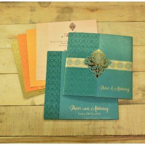 indian wedding card