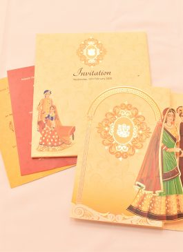 dulha dulha wedding card