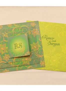 exclusive designer wedding card