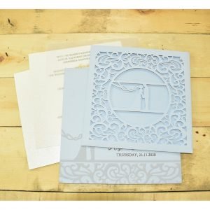 bride groom invitation card