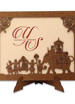 boxed wedding invitation