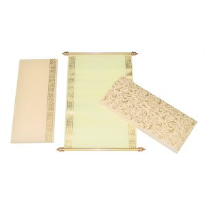 wholly paper scroll card