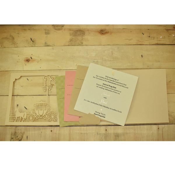 christian wedding card