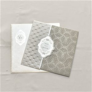 designer wedding card