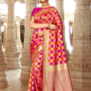 art silk fabric saree
