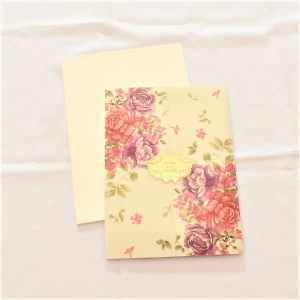 translucent vellum paper invitation card